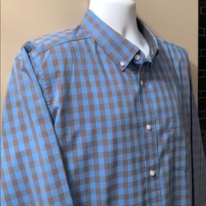 GEORGE Button Down Shirt. Size X-Large